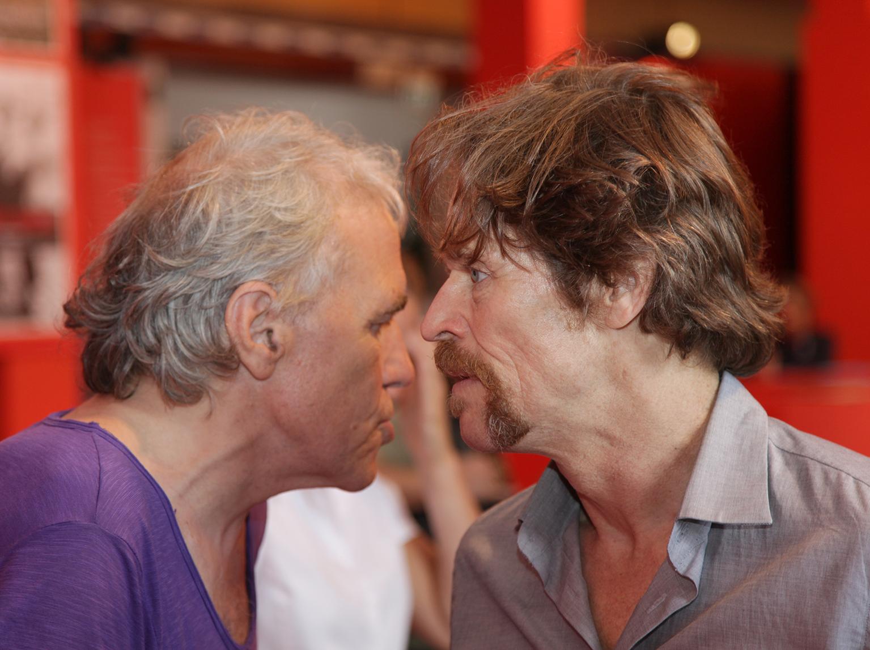 Abel-Ferrara und Willem-Dafoe